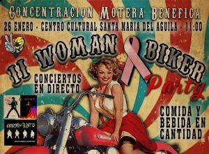 'II WOMAN BAKER' Concentración de Mujeres Moteras Benéfica - Asoc. Española Contra el Cáncer @ Centro Cultural de Santa María del Águila