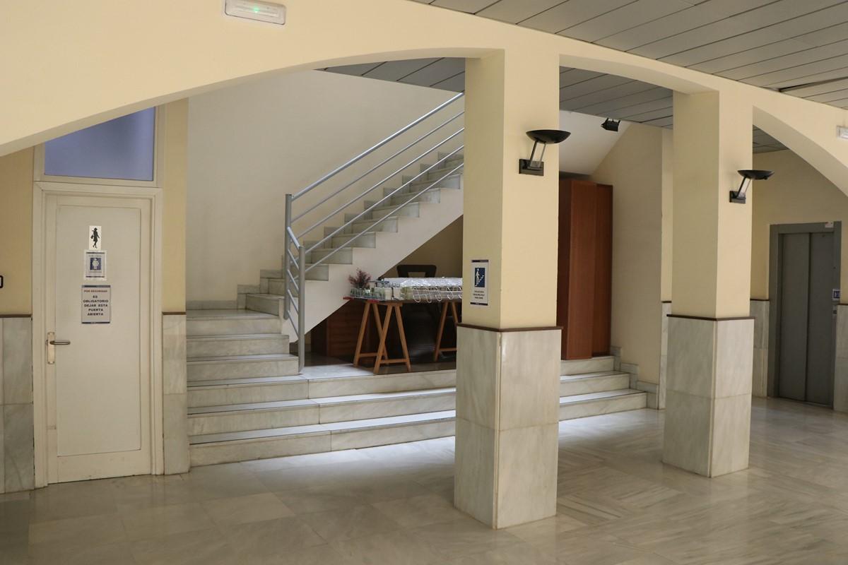 02/07/20 La Junta de Gobierno da luz verde al proyecto de accesibilidad del Ayuntamiento por un valor de 255.000 euros, incluidos en la EDUSI y cofinanciados al 80% por los fondos FEDER