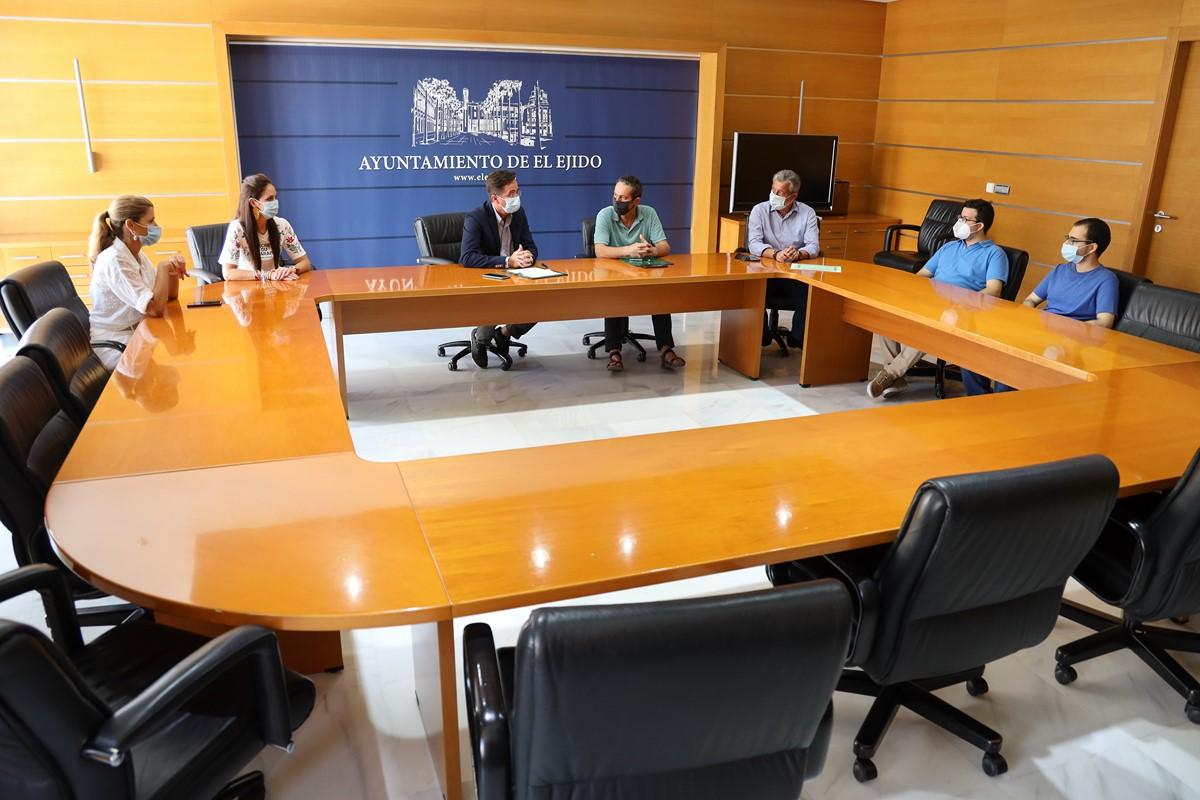 28/07/20 Ayuntamiento, Fundación Mapfre y ASPRODESA renuevan el convenio de colaboración de prácticas formativas para personas con discapacidad intelectual o enfermedad mental