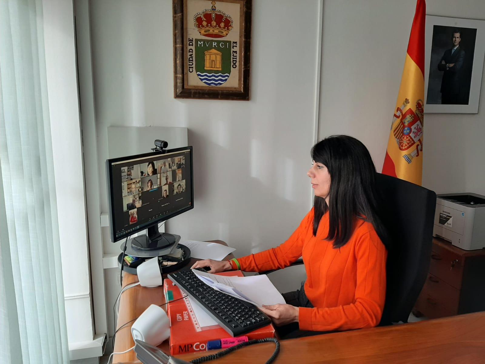 La Mesa de Trabajo de la Discapacidad y Sensibilidad aborda el calendario de propuestas con motivo de la VIII Semana de la Discapacidad.